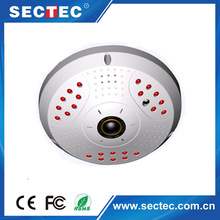 2015 1.16mm tiny lens dual streaming video ball room in need ir 1.3mp IP camera