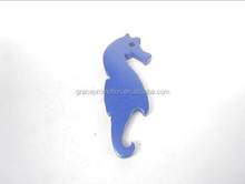 2014 Personalized Sea Horse Bottle Opener With Beer Project for OEM