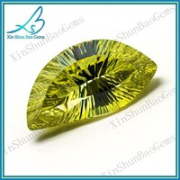 Special cutting customized cubic zirconia millenium cut gems