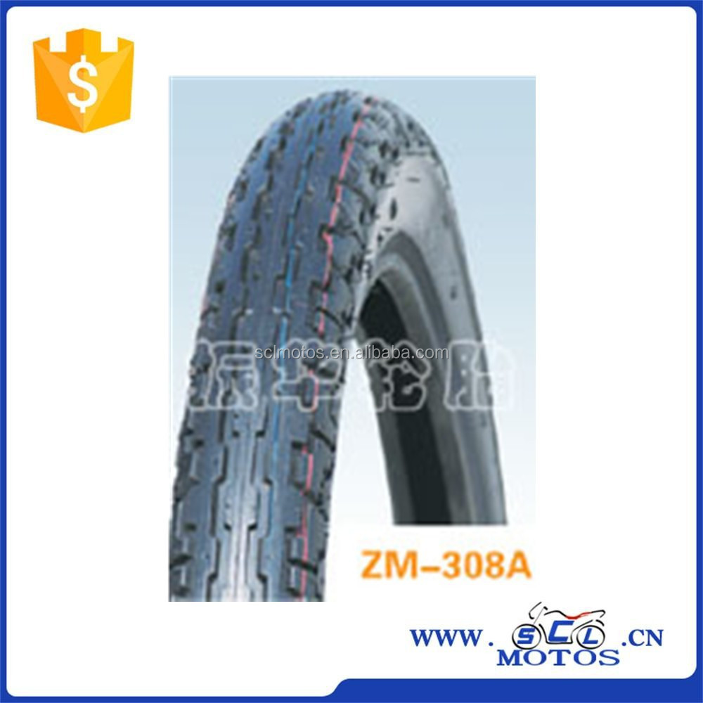 SCL-2012120447 Hot Sale Size 2.75-18 Motorcycle Tubeless Tyre
