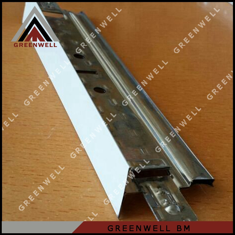 Latest suspended galvanized ceiling t runner