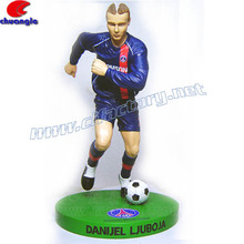 Soccer Player Figurine, Sports Action Figurine, Custom Sports Player Figure
