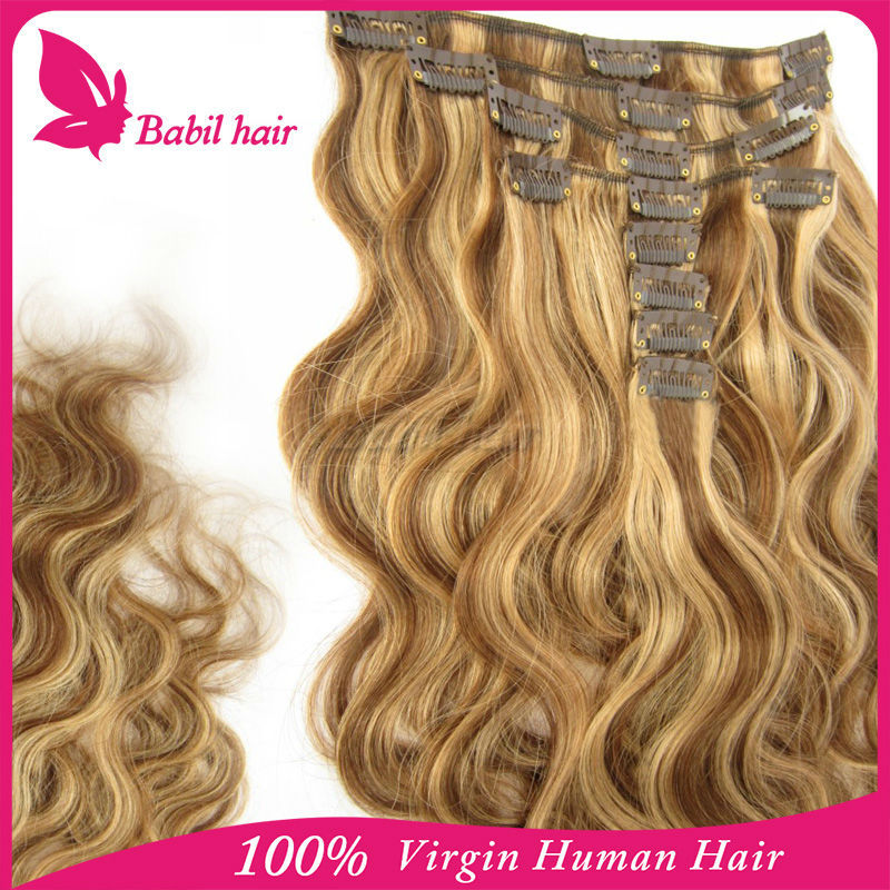 brazilian hair wholesale distributors 1 piece min order clip in hair extensions for white women