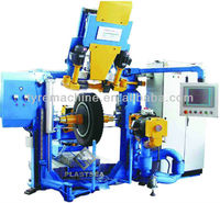 Automatic Tire Buffing Machine for Retreading