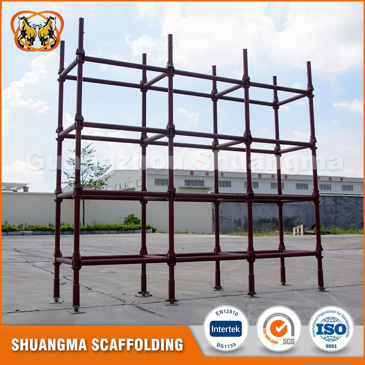 Competitive price steel q235 stability cuplock scaffolding