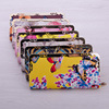 Ethnic full print butterfly women money holder wallet purse