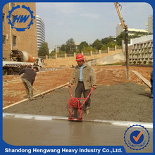 Road equipment concrete finishing screed power screed with honda engine
