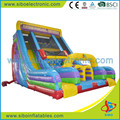 5413 Attractive style inflatable double slide for kids
