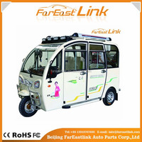 low price adult electric tricycle with four seats TCC