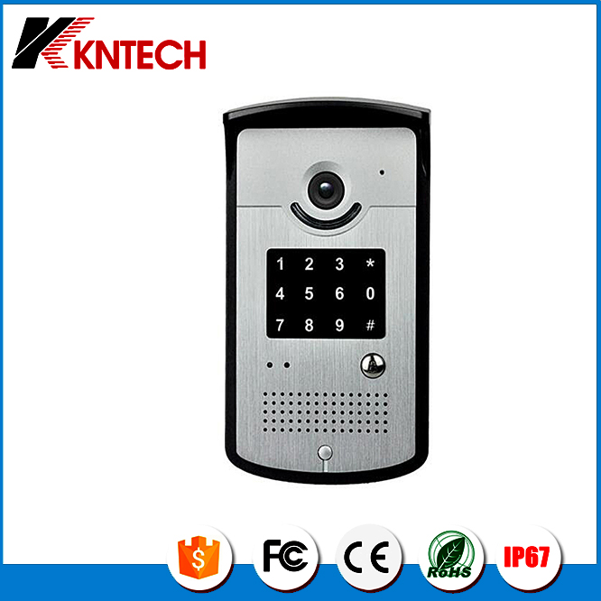 Door access control IP door phone KNZD-42VR wireless intercom system video door phone