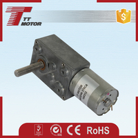 4-38rpm No-load speed torque dc small gear motor
