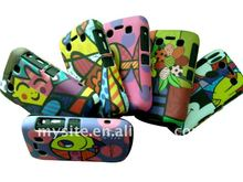 IMD Design! Cell Phone Silicon+PC Combo Case Covers for Blackberry Curve 9300/9700/8520/9100