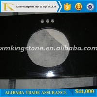 granite vanity top black galaxy vanity top for bathroom
