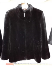 High Quality Men real Natural black Mink Fur Coat