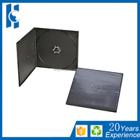 5mm square short pp dvd vcd Case