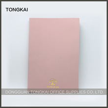 Office and School Eco Eva Material Pu Leather Notebook