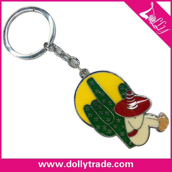 hot sale mini cactus keychain for wholesale