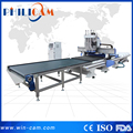 Auto feeding disk atc cnc router with boring head