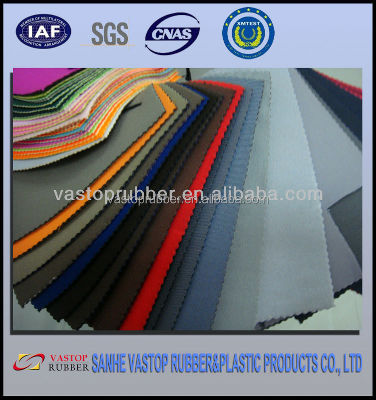 Suit fabric for wholesale textured neoprene rubber sheet
