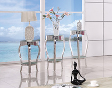 C8017 Elegant Stainless Steel Flower Stand and Flower Shelf