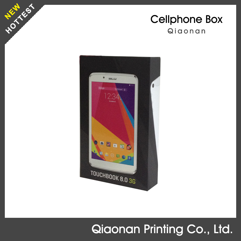 Custom design cell phone case paper packaging box