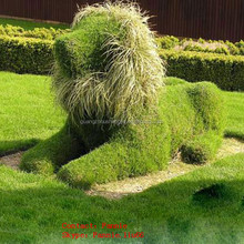 LF092632 2014 hot selling plastic yard animals artificial topiary animals/decoration topiary animals