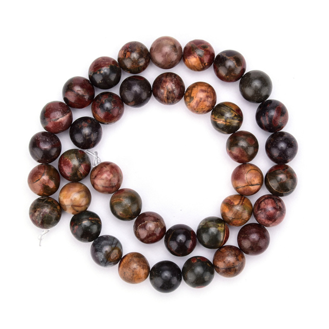 wholesale fashion bracelets natural Picasso turquoise stone beads bracelets jewelry for men and women
