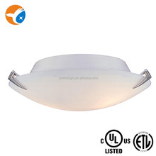 Glass surface mounts Ceiling lamp for home UL CUL Approval Indoor lighting