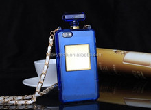 Luxury fashionable desgin lady perfume bottle phone case for Samsung
