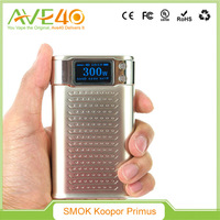 Factory Price Smoktech 300W Box Mod/Smok KOOPOR Primus 300W from AVE40 vs Cuboid Mini/Topbox Mini