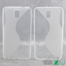 Clear mold make cell phone case for Samsung Galaxy Note3 N9000