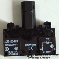 Siemens ACTUATOR COMPONENT WITH INTEGRATED LED 230V AC 3SB3400-1RB