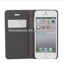 Cheap custom mobile phone cases sublimation leather case for iphone5