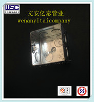 4X4 Square steel junction electrical metal box conduit switch box