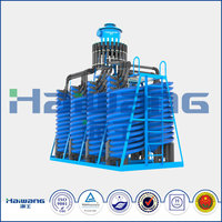 Haiwang High Efficiency Spiral Chute / Spiral Chute Separator For Sale