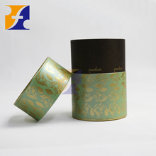 Small round paper luxury chocolate packing box /rigid cardboard box for chocolate candy with lids