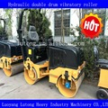 Hydraulic double drum vibratory roller 2T