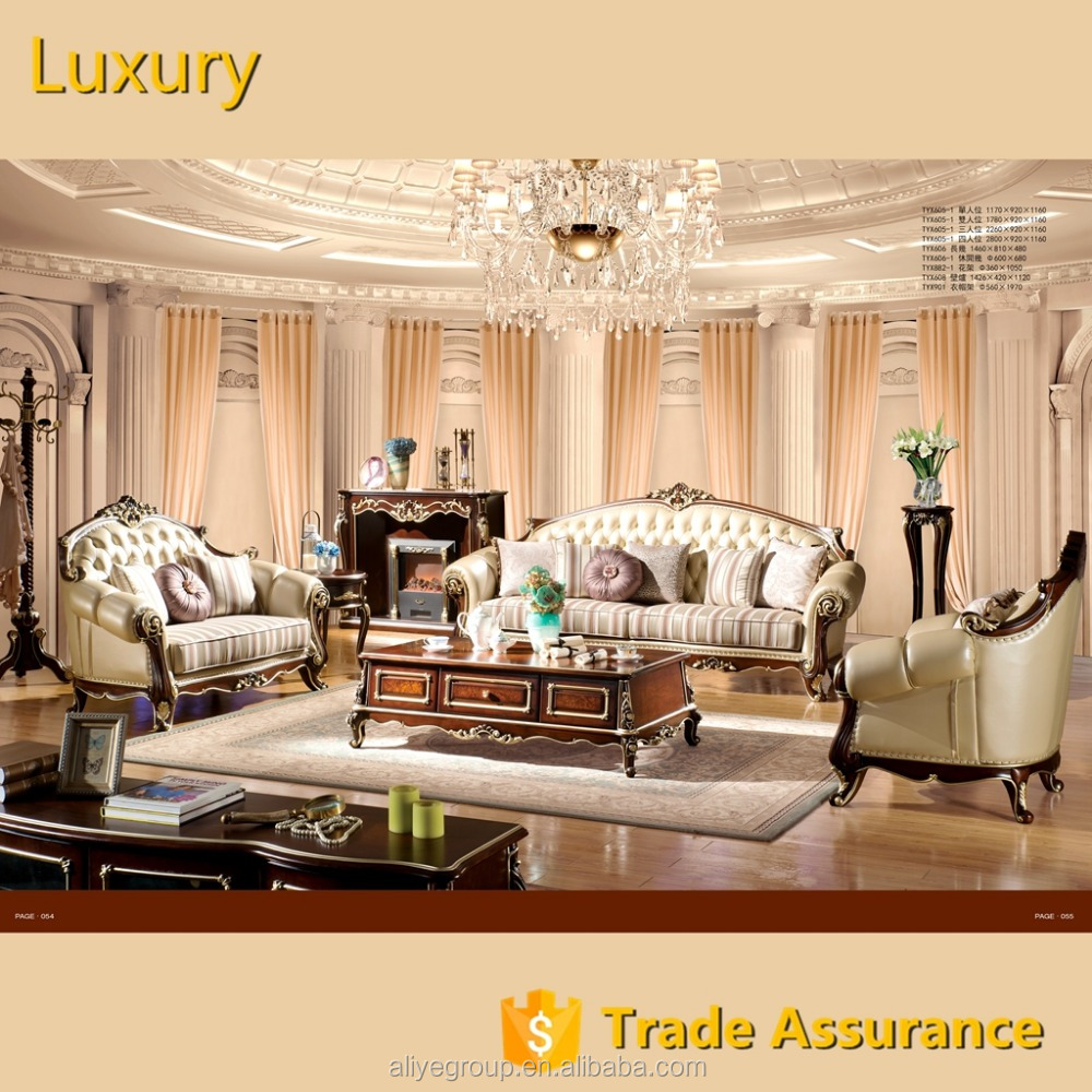 FOSHAN ALIYE solid wood <strong>sofa</strong> for living room furniture guangdong-TYX605