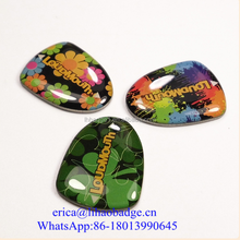 Pure 3D concept aluminum printing clear resin dome epoxy sticker