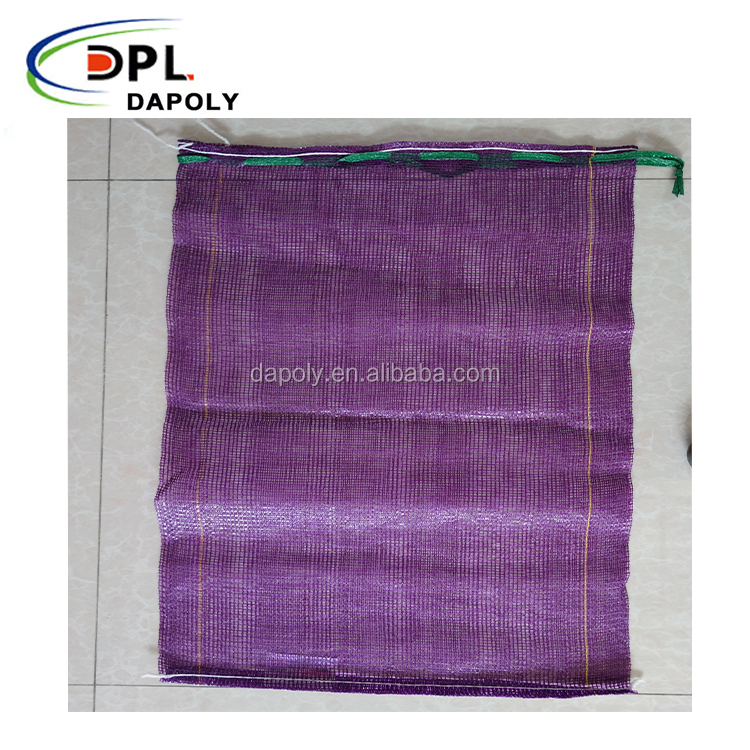 bright shine color cheap price net potato onion mesh bag