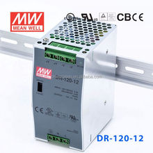ORIGINAL Meanwell DR-120-12 120W 12V/10A AC-DC Single Switch Power Supply