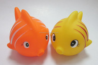 plastic toy fish, small plastic toy fish shape vinyl toy