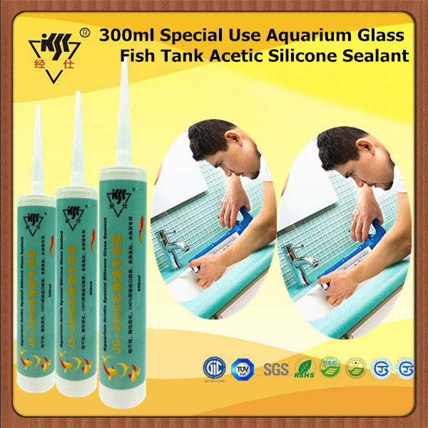 300ml Special Use Aquarium Glass Fish Tank Acetic Silicone Sealant