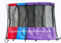 Mesh shoes drawstring bag storage bag