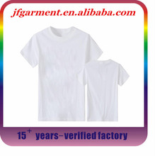 short sleeve customized men's plain o neck t shirts