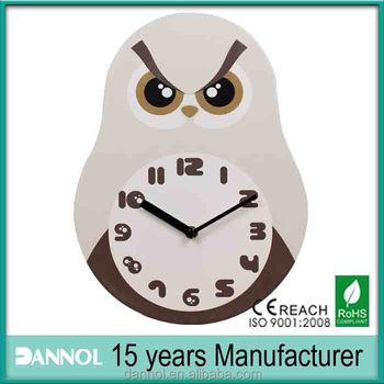 Mdf Wall Clock Different Shape Home Decor In Guangzhou