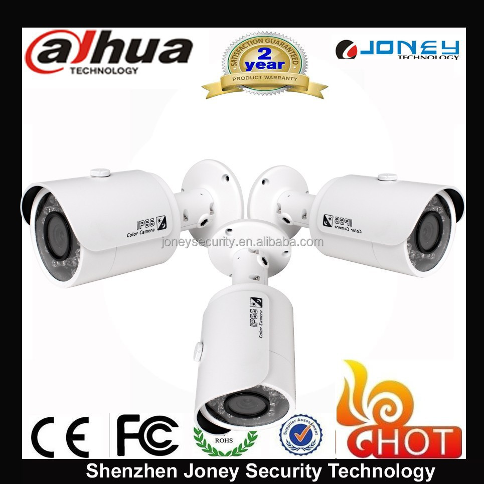 IPC-HFW4100S/IPC-HFW4300S ip66 1080p /960p/3mp ip camera dahua Mini Ir Bullet Ip Camera Poe Camera