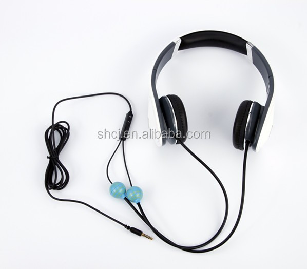 Alibaba NO1 selling High quality low price air tube radaition proof earphones & headphones