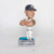 Handmade resin baseball player souvenir custom dashboard bobble head