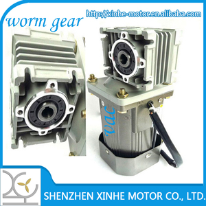 XH-D130 dia18mm shaft 500W high torque ac 220v 230v worm drive gear motor for mixing, mechanical drive